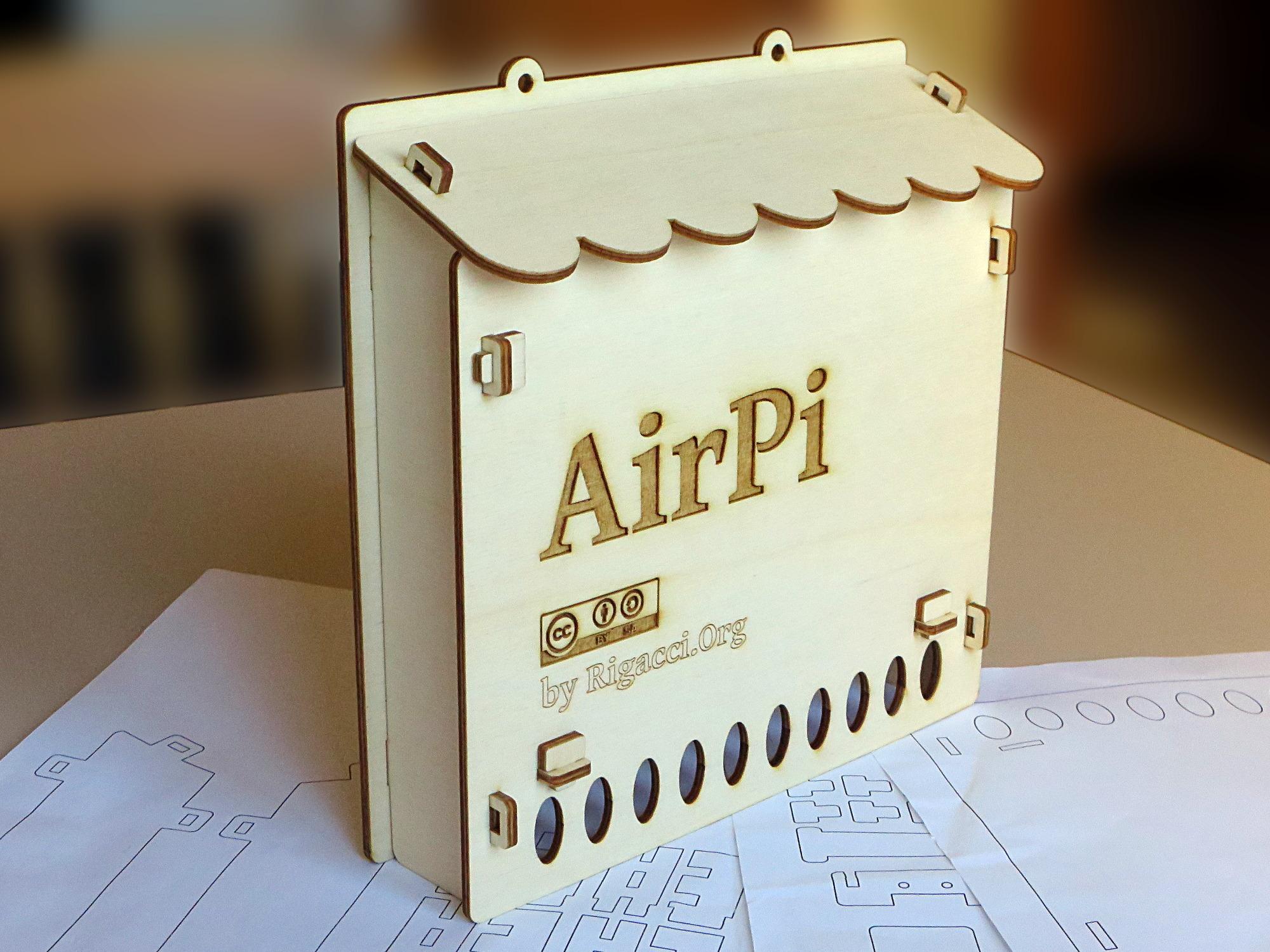 Rapsberry Pi Air Quality Station [rigacci org]