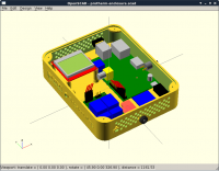 Testing dimensions into OpenSCAD