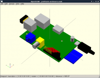 OpenSCAD module for the Raspberry Pi Model B v.2
