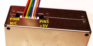 PMS5003 PIN layout